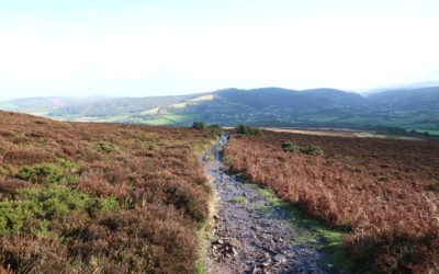 Exmoor walking challenge for children and adults April 2018