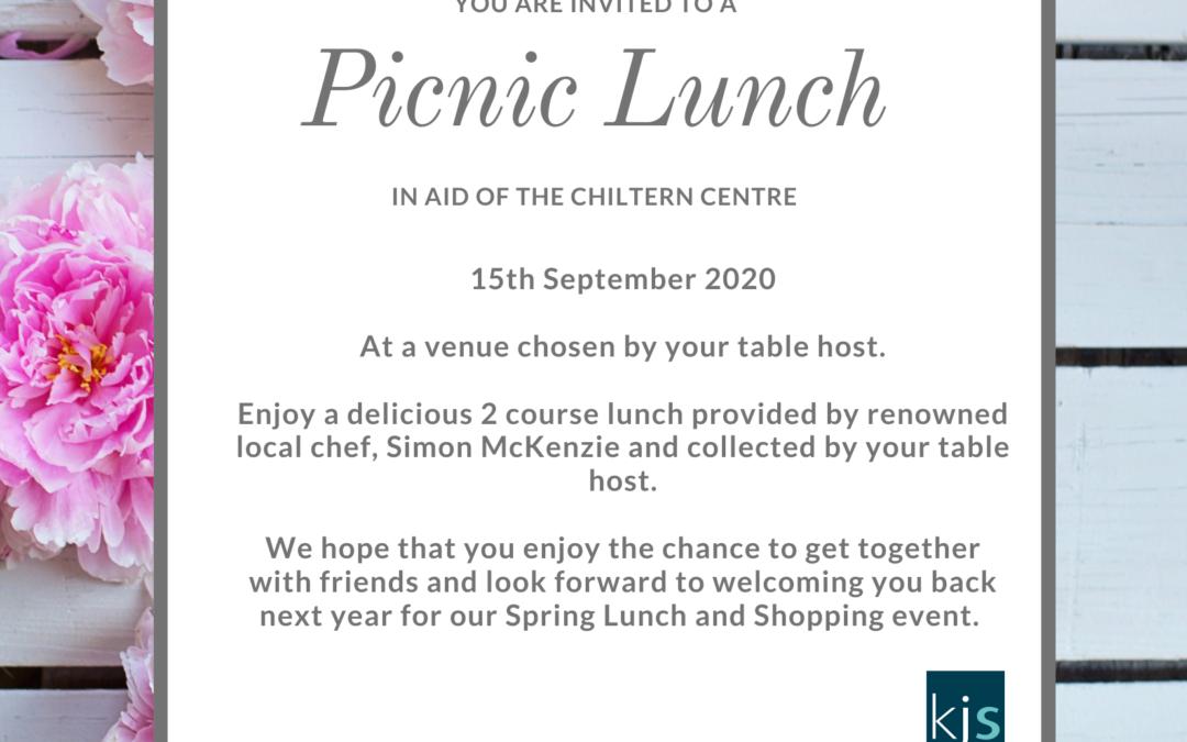 Ladies Picnic Lunch 2020